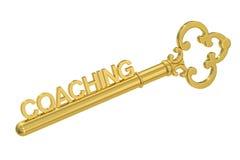 Het trainen - Gouden Sleutel royalty-vrije illustratie