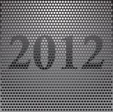 Het traliewerk 2012 van het metaal vector illustratie