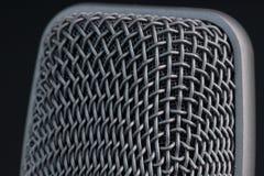 Het traliewerk van de microfoon Stock Foto's