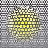 Het traliewerk van het metaal vector illustratie