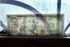 Het transparante geld van de dollarrekening Royalty-vrije Stock Afbeelding