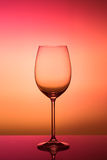 Het transparante glas van de glaswijn Royalty-vrije Stock Foto