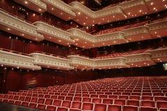 Het trefpunt van het theater royalty-vrije stock afbeelding
