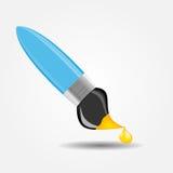 Het trekken en het Schrijven hulpmiddelenpictogram vectorillustratie Royalty-vrije Stock Afbeelding