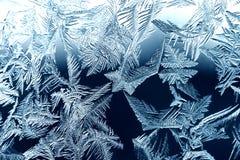 Het trekken in ijs Stock Afbeelding