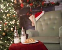 Het trekken van de Kerstboom Royalty-vrije Stock Fotografie