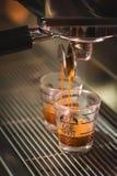 Het trekken van een Schot van de Espresso Royalty-vrije Stock Afbeelding