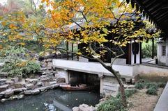 Het treuzelen van tuin in suzhou Royalty-vrije Stock Foto's