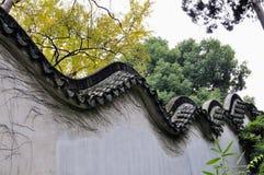 Het treuzelen van tuin in suzhou Royalty-vrije Stock Afbeeldingen