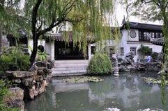 Het treuzelen van tuin in suzhou Stock Afbeelding