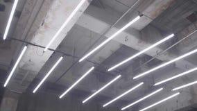 Het trillen van Neonlicht stock videobeelden