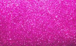 Het trillende heldere roze schittert achtergrond Stock Afbeeldingen