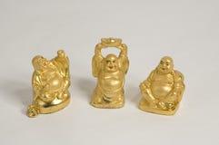 Het trio van Boedha stock afbeeldingen