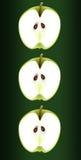 Het trio van de appel. Stock Foto's