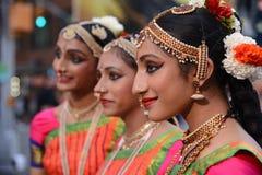 Het trio van het Diwalifestival stock foto