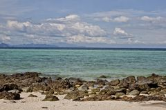 Het tropische eiland van het strandbamboe Royalty-vrije Stock Fotografie