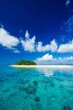 Het tropische paradijs van de eilandvakantie Royalty-vrije Stock Foto's