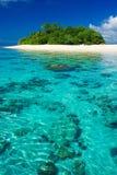 Het tropische paradijs van de eilandvakantie Stock Foto's