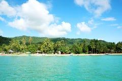 Het tropische paradijs van het Eiland Royalty-vrije Stock Afbeelding