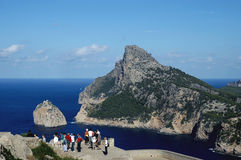 Het tropische paradijs van Majorca stock foto