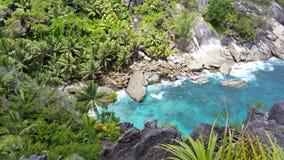 Het tropische Strand van het Paradijs Stock Afbeelding