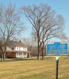 Het tubman huis van Harriet Royalty-vrije Stock Fotografie