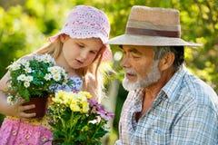 Het tuinieren Royalty-vrije Stock Afbeeldingen