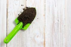 Het tuinieren nieuwe hulpmiddelen, rietdienblad Royalty-vrije Stock Afbeelding