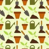Het tuinieren patroon Stock Afbeeldingen