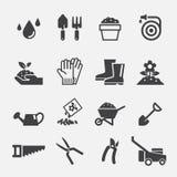 Het tuinieren pictogram Stock Fotografie