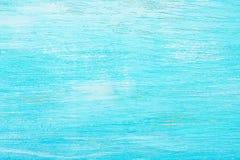 Het turkoois kleurde houten achtergrond aquamarine Abstracte textuur royalty-vrije stock afbeelding