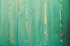 het turkoois kleurde houten lijst Royalty-vrije Stock Foto's
