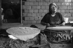 Het Turkse dorpsleven Stock Foto