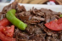 Het Turkse voedsel van Doner Kebab royalty-vrije stock fotografie