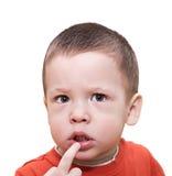 Het twee-jaar-oude kind Stock Fotografie