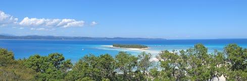 Het tweede verbonden eiland Stock Foto