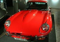 Het Type Ser 2.1969 van Jaguar E , Expo bij Technologie-museum Zagreb, 2016 Royalty-vrije Stock Foto's