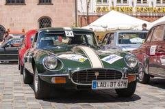 Het type van jaguar E Stock Afbeelding