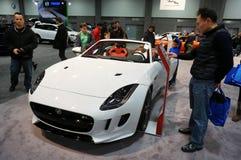 Het Type van Jaguar F Sportwagen Stock Afbeeldingen