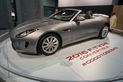 2016 het Type van Jaguar F Sportwagen Stock Afbeeldingen