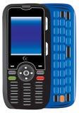 Het type van LG van mobiele telefoon Royalty-vrije Illustratie