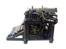 Het typen machine royalty-vrije stock afbeeldingen
