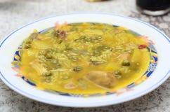 Het typische $ce-andalusisch voedsel van Gurullos Stock Foto