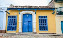 Het typische huis van Trinidad Royalty-vrije Stock Foto's