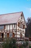 Het typische traditionele Huis van de Elzas Royalty-vrije Stock Fotografie