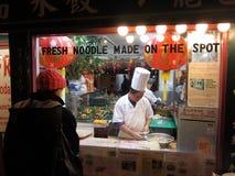 Het Uitdrukkelijke Restaurant van de Chinatown Royalty-vrije Stock Foto