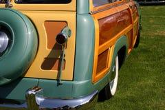 Het Uiteinde van de bosrijke Wagen Royalty-vrije Stock Afbeeldingen