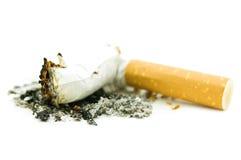Het uiteinde van de sigaret Royalty-vrije Stock Afbeeldingen