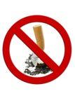 Het Uiteinde van de sigaret Stock Fotografie