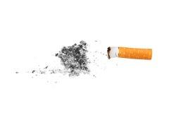 Het uiteinde van de sigaret Royalty-vrije Stock Fotografie